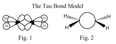 Tau Bond Ethylene Molecule
